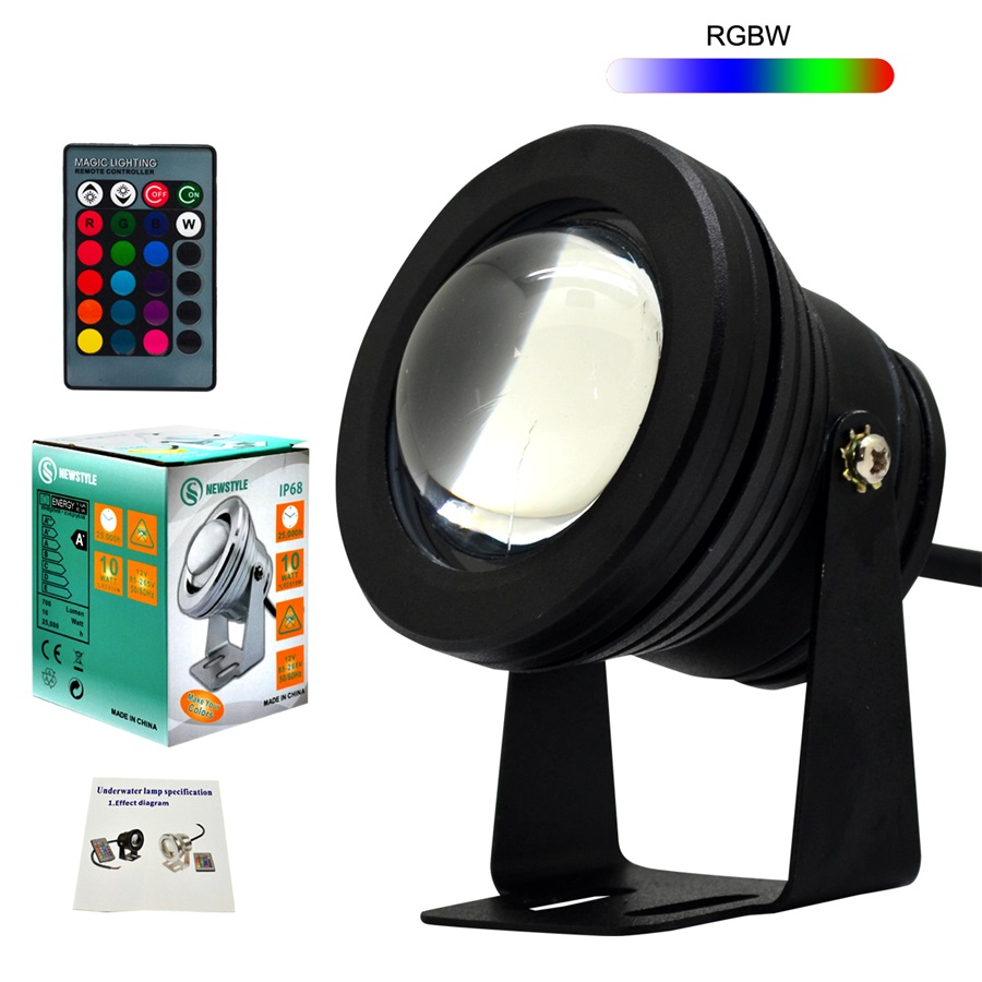 Led Underwater Lights Beautiful 1pcs Rgb Led Lamp Led Multicolor Colors Submersible Underwater Pool Light For Party Piscina Rgb Colors 24keys Remote Control