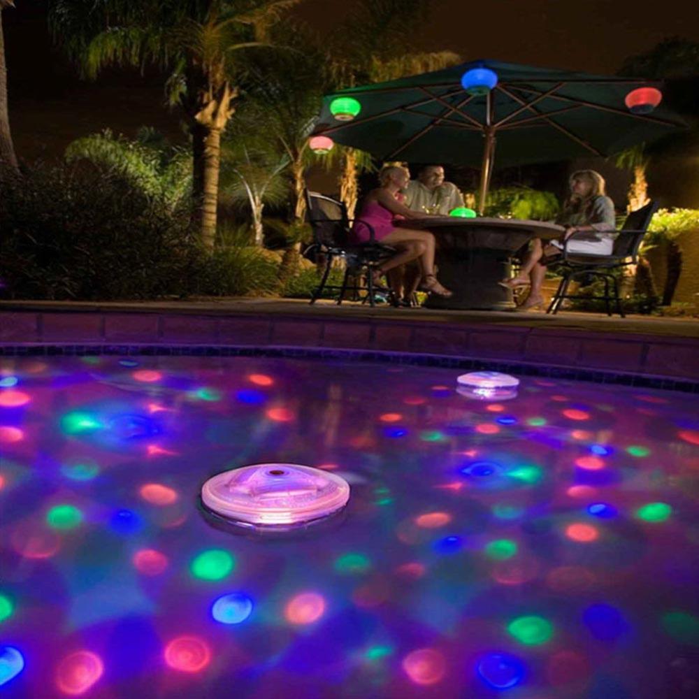 ITimo 5 lighting Modes Outdoor Lighting 4 LEDs Underwater ...