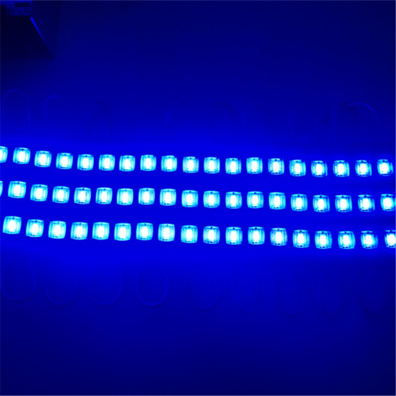 10pcs LED Module Injection 5730 DC12V 3LEDs Waterproof Outdoor light Backlight for billboard white,red,blue,green High lumens