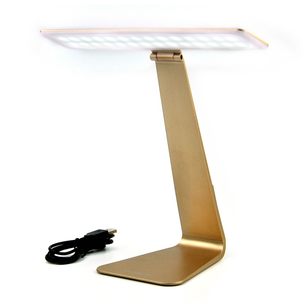 Ultra thin White Light Color Dimming Touch sensor Lamp USB Rechargable LED Reading Table Desk Bedside Lamps 3 color options