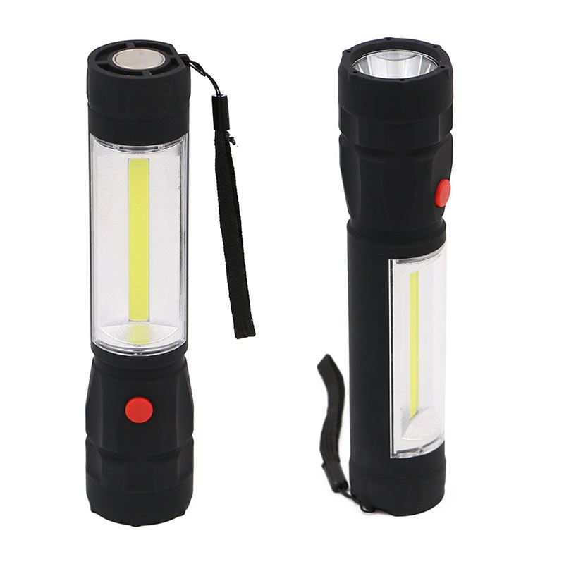 Mini Multifunction Torch Light Handle Work COB LED Flashlight Working Hand Lights Lantern --M25