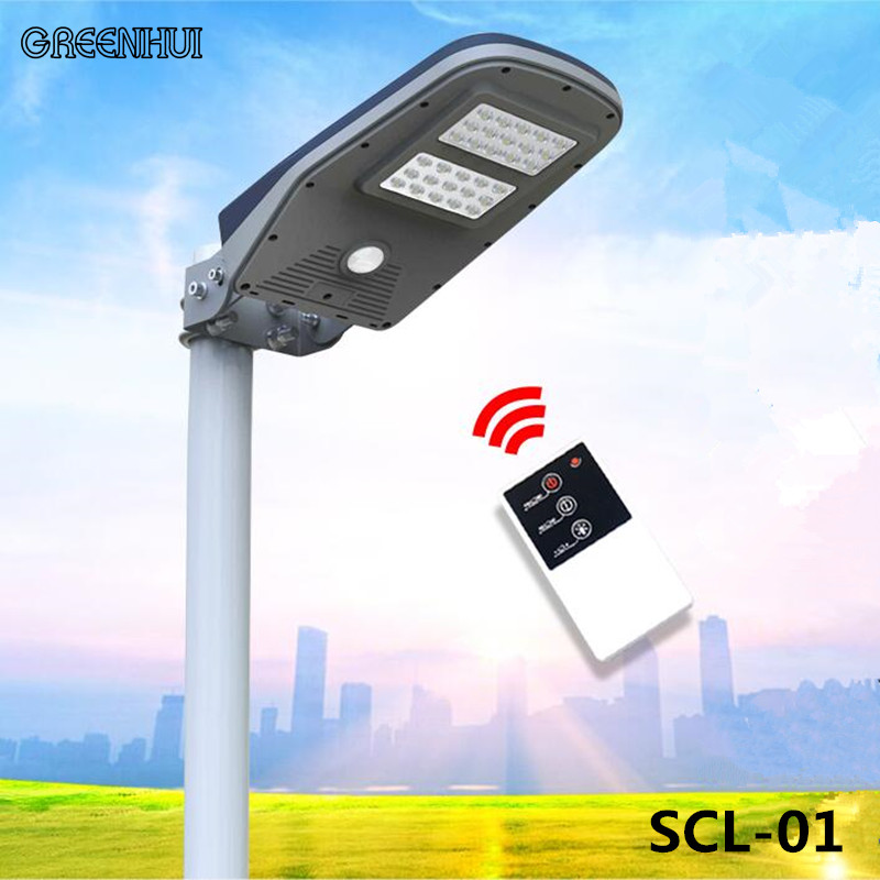 Updated Super Bright 30 LEDs Solar Street Light LED On the Wall Waterproof Solar Lamp Sensor Security Adjustable Spot Lighting