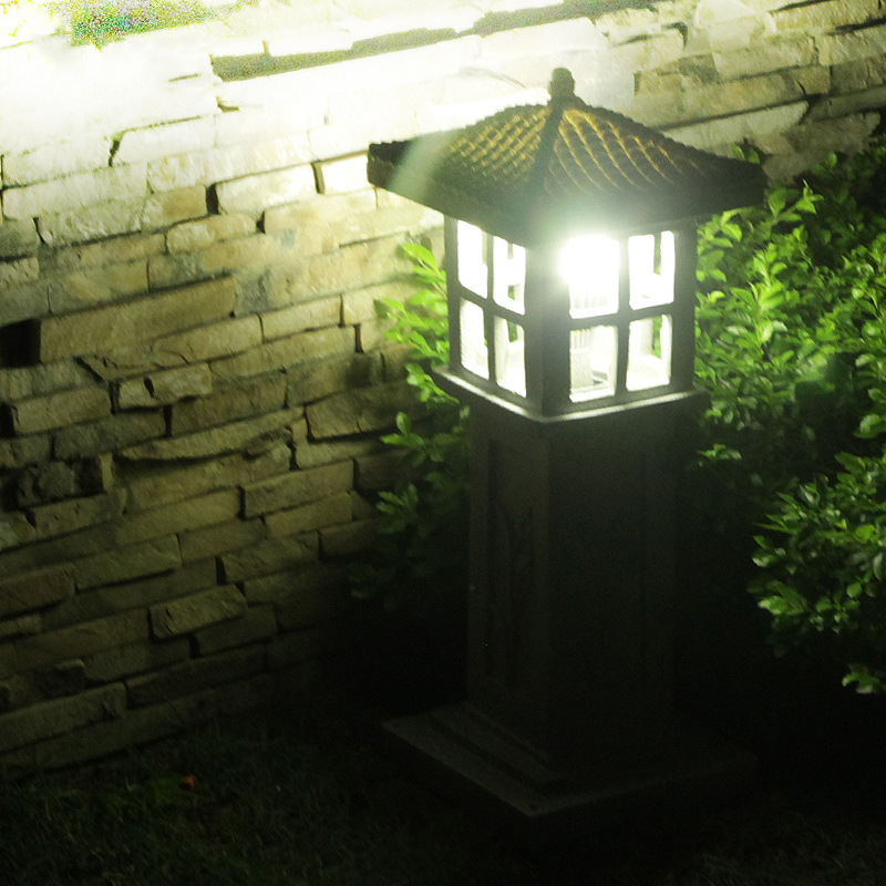 Creative imitation stone lawn light villa garden courtyard park grass lamp outdoor waterproof landscape lighting