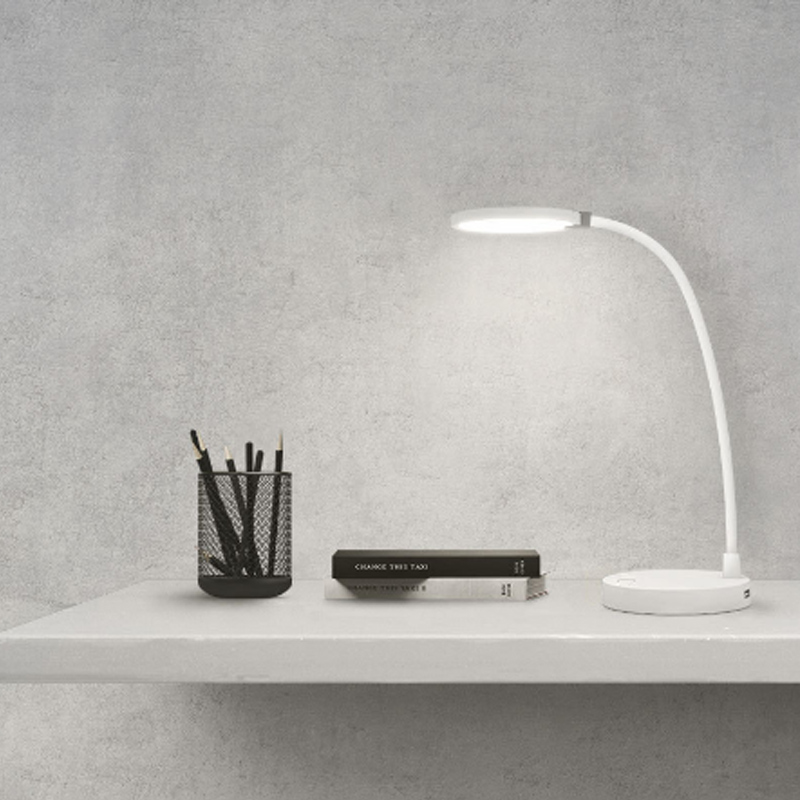 New Xiaomi COOWOO LED Desk Lamp Eye Protect Multi-Function Dual USB Charging Port 4000 mAh Built In Battery 8 Hours Lighting