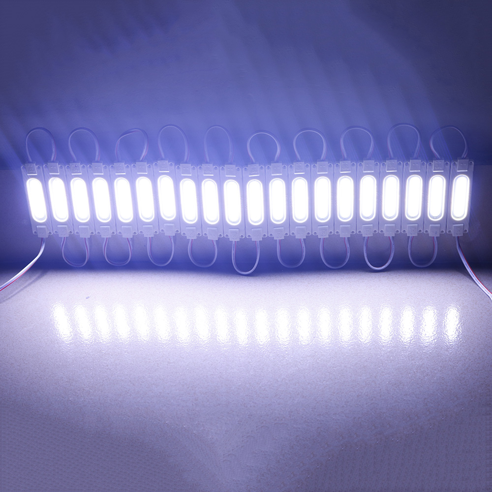 led COB module Light Advertising lamp 2W IP65 Waterproof DC12V safe led background light Warm white White Red Blue Green 20pcs