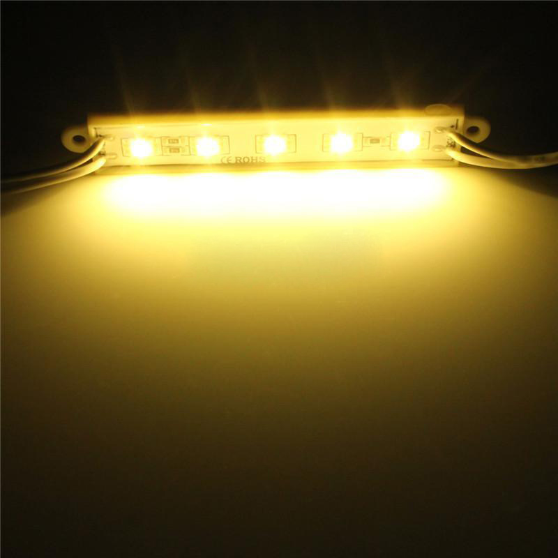 5050 LED Module 5 SMD Strip Waterproof Strip Band Lamp DC 12V 1PCS