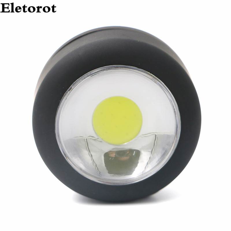 super Mini Bright Portable LED Work Light Lamp Pocket Flashlight Torch with Magnet Hanging Hook for Outdoors Indoor use AAA