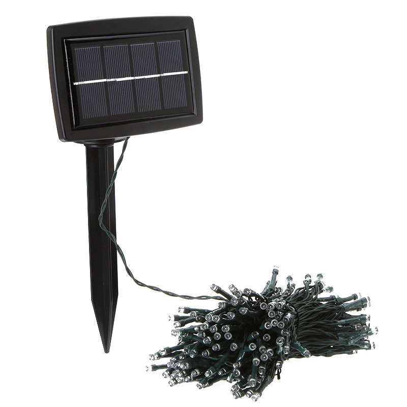 Solar Power 200 LED Fairy Light For Xmas Wedding Party Garden Decoration Lamp Red