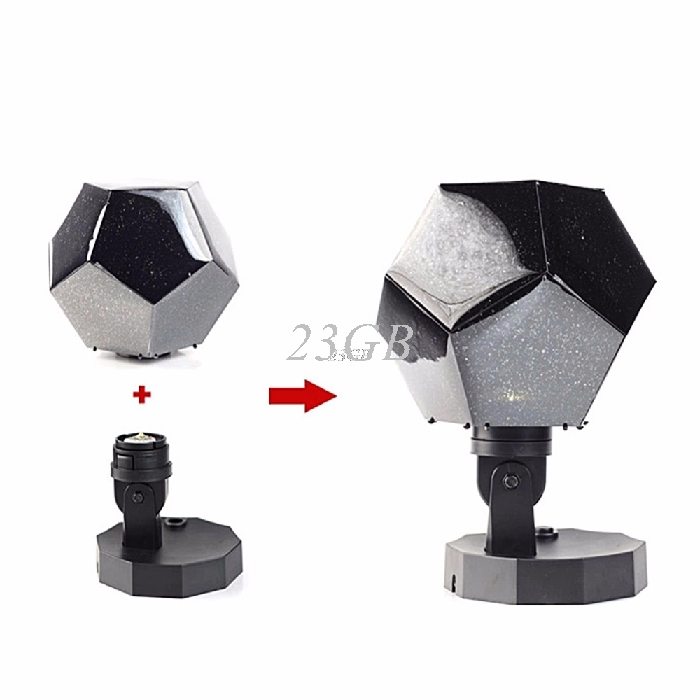 2017 NEW Star Astro Sky Projection Cosmos Night Light Projector 12 romantic constellation MAY08_25