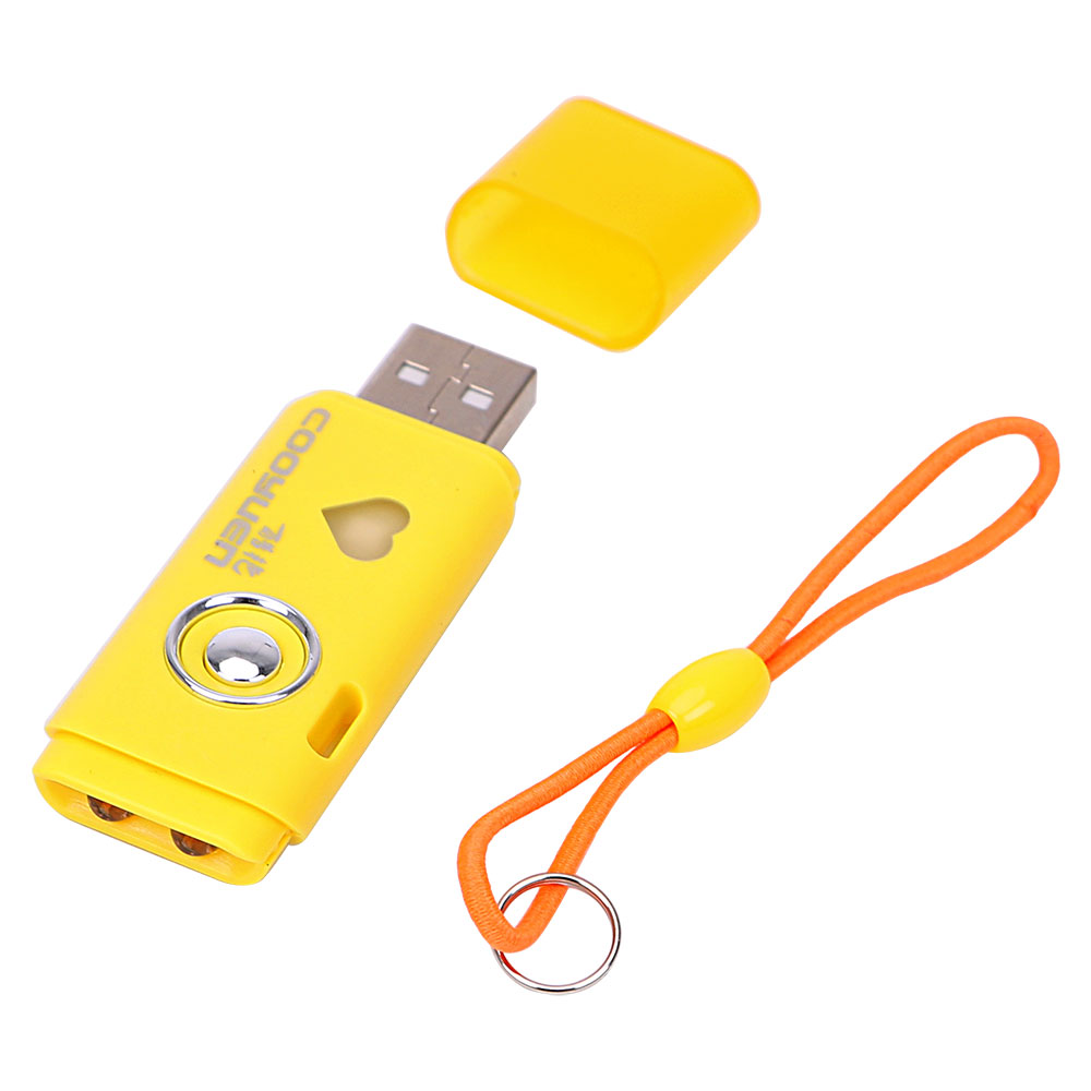 ITimo UV Light USB Rechargeable 2 LED Flashlight with Keychain Mini Pocket Lamp Torch for Checker Cash Flash Bike light SOS