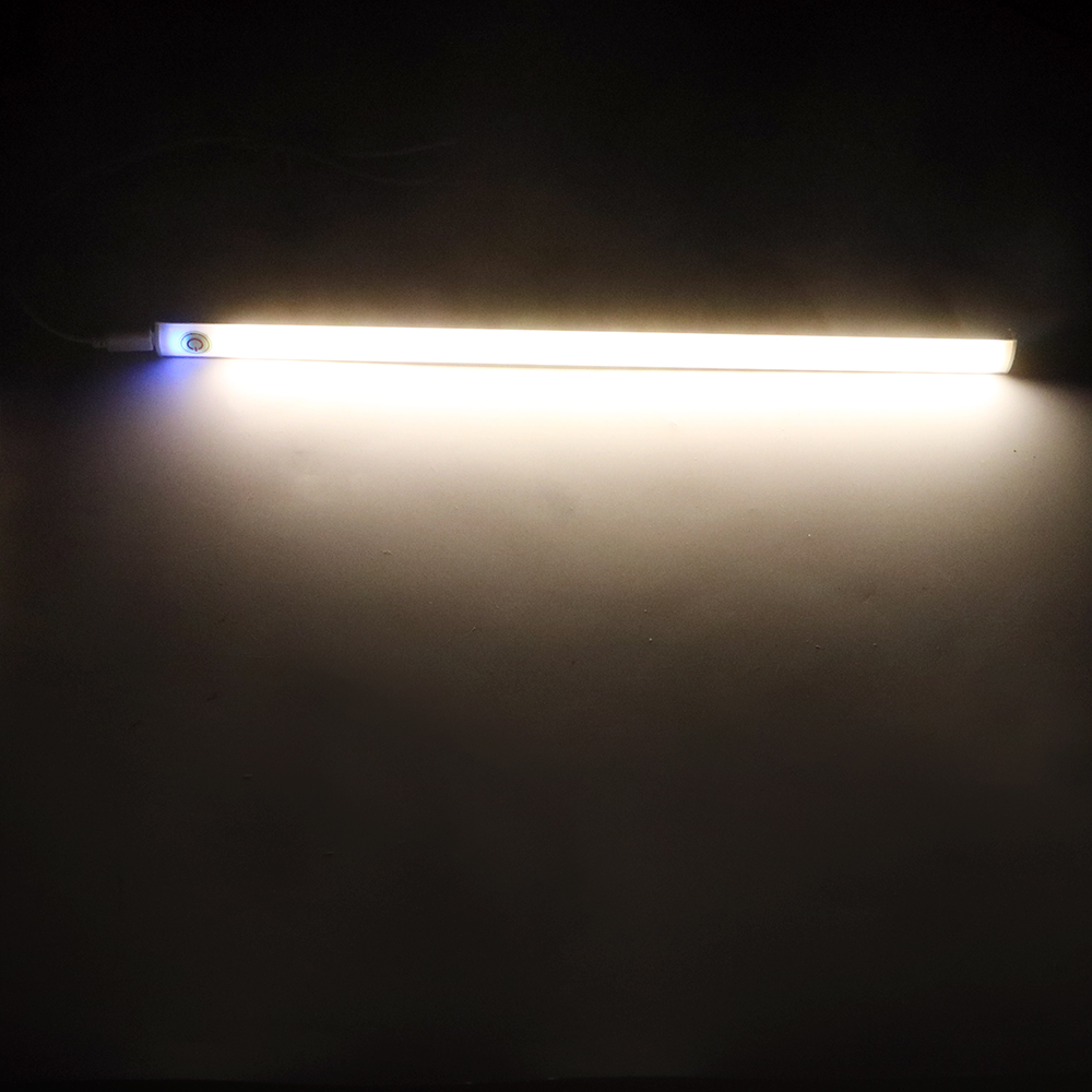 "Under Shelf 12"" Home Decoration Dimmable Touch Sensor Strip USB LED Bar  Under Cabinet"