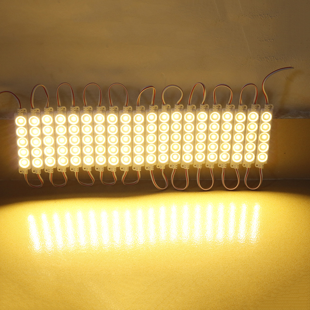 20pcs 5730 LED Module DC12V 5LEDs Waterproof Outdoor light Backlight for billboard white, red, blue, green Channel Letters