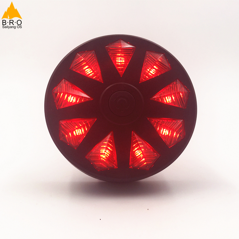 2017 Portable 9 LED MTB Road Bike Tail Light  Safety Warning Bicycle Rear Light Lamp Cycling Bike Accessories Bicicleta Caution
