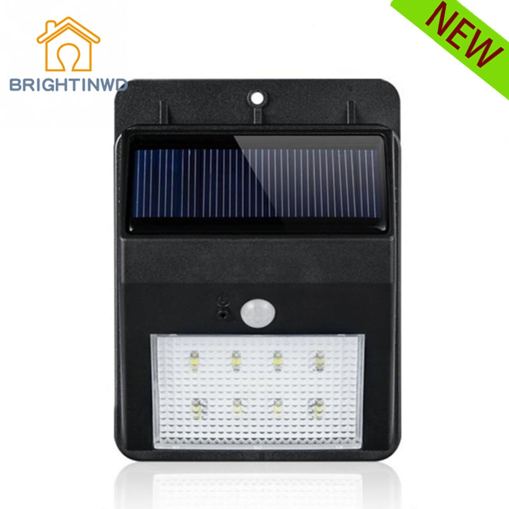 Solar Light Human Induction Motion Sensor Lamp Waterproof Outdoor Garden Lights Powerful Solar Garden Lights