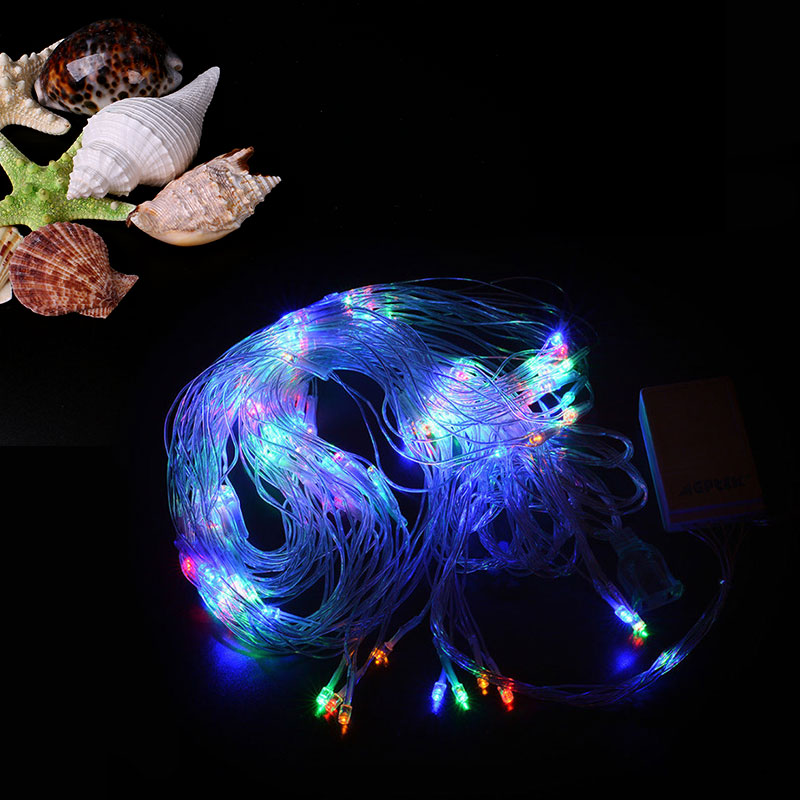 LED Twinkle Flash Net String Lights Decoration Christmas Wedding Fairy Decoration