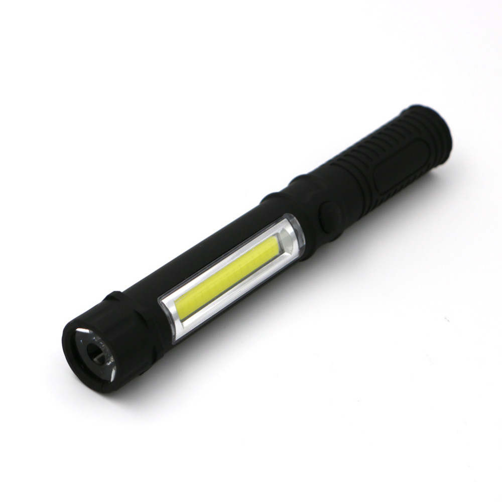szKosTon Hot Sale 2Modes COB Workinglight Flashlight Magnetic with Folding Hook Light 3
