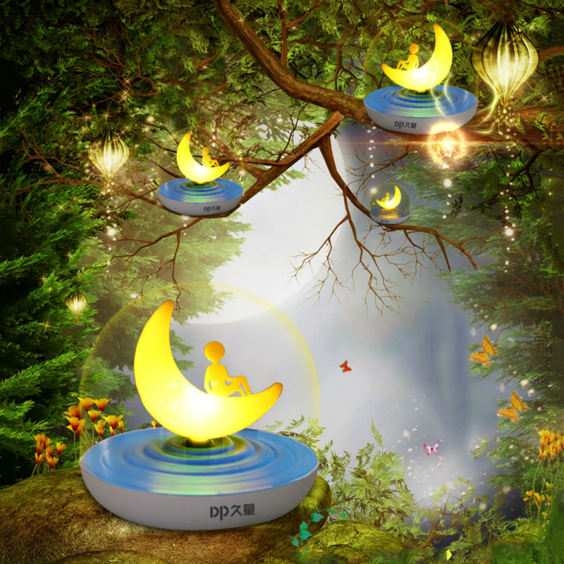 Duration Power Night Lights for Kids Baby Night Light Bedside Lamp Safe ABS Breakage Resistant Eye Caring LED Touch Control Lamp