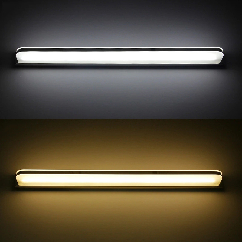 LED bathroom light waterproof and antifogging 3W/9W/12W AC110-240V  indoor wall lamp modern LED acrylic wall lights for bedroom