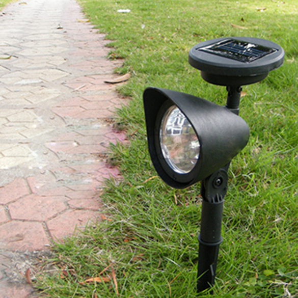 Outdoor Garden 3 LED Solar Powered Spot Landscape Spot Light LED Spotlight Lamp MFBS