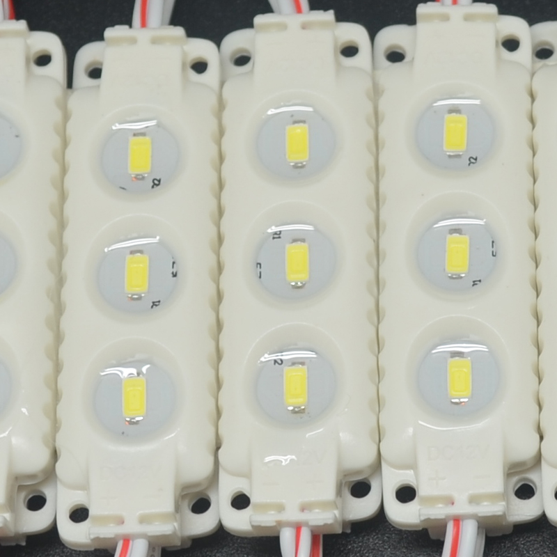 20pcs DC12V 5630 3 LED Modules White/Warm White IP65 Waterproof LED Module For Backlights Channel Letters Advertising Sign Light