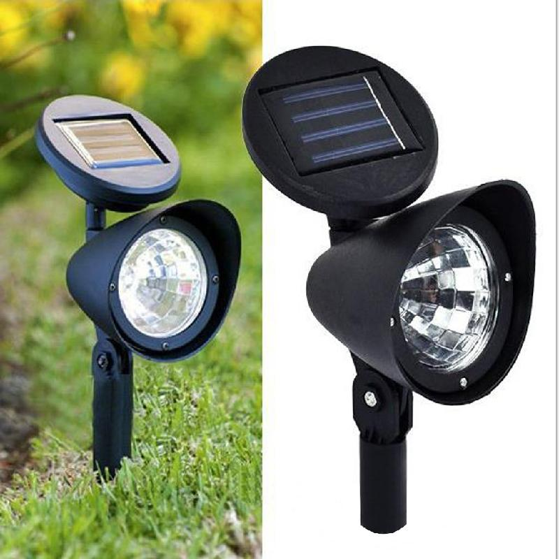 Adjustable Solar Spot Light 3 LED Landscape Garden Green Lawn Path Lamp Outdoor-Y122
