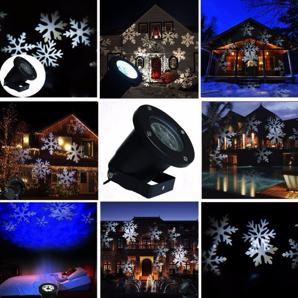 feimefeiyou snowflake lamp lampada led laser projector. Black Bedroom Furniture Sets. Home Design Ideas