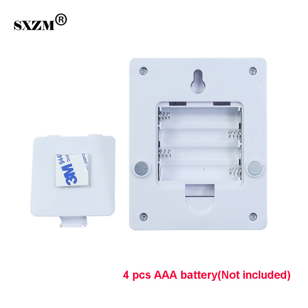 SXZM led nightlight 3W or 7W COB Emergency indoor lighting Battery operated Wireless With ON/OFF Switch for Baby Nursery,Bedroom