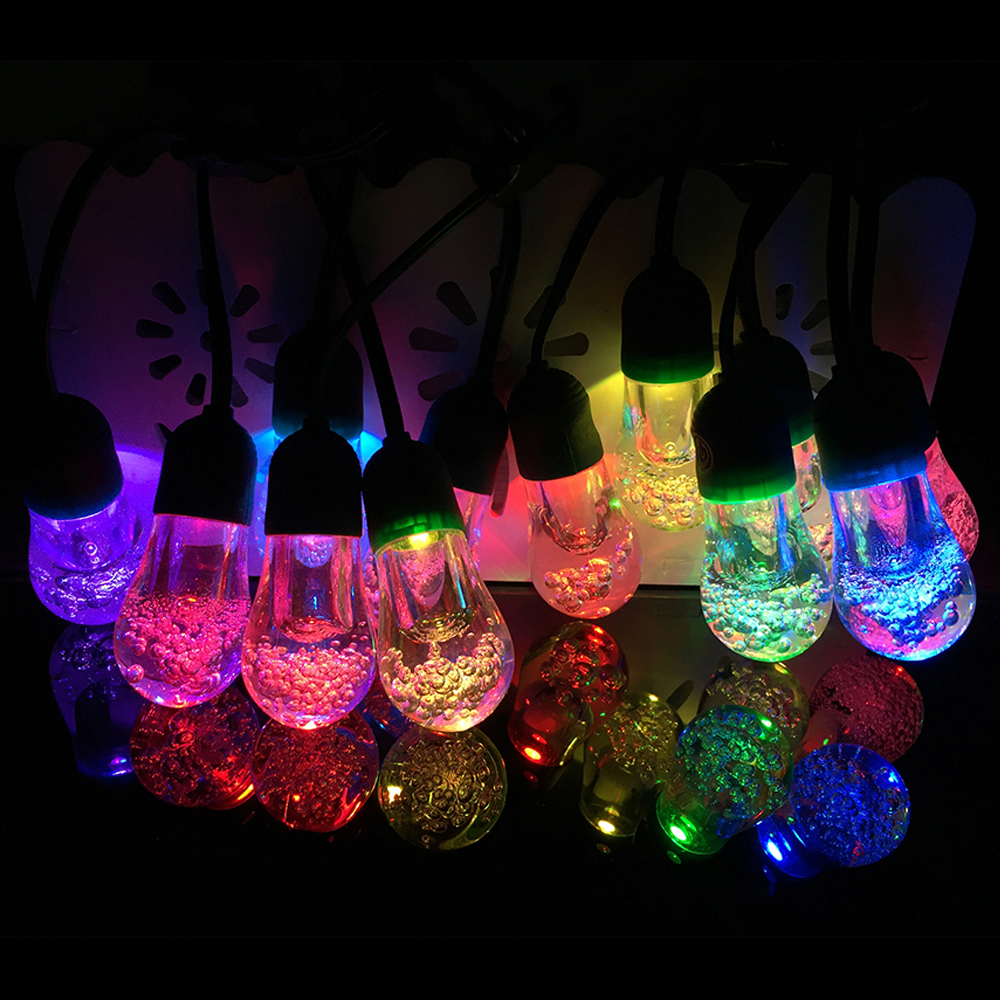 2.2M 12Bulbs Solar String Light Solar Powered LED Fairy String Lights For Outdoor Garden Home Decor