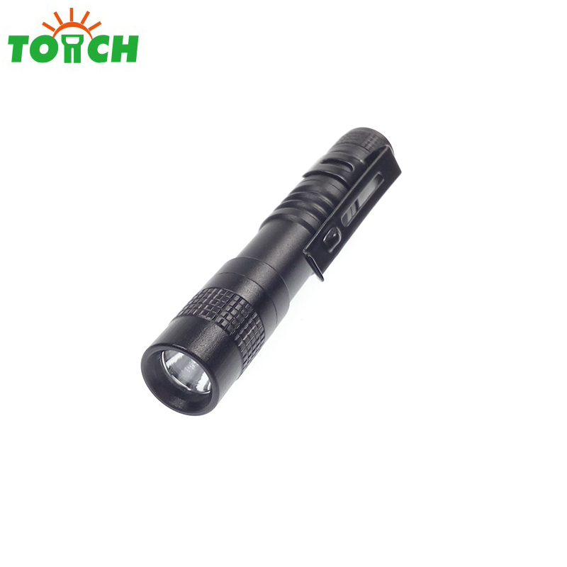 TOACH pen lamp 1-mode mini led flashlight working reading repairing doctor portable torch lintern with clip for 1xAAA battery