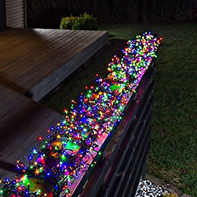 10m 100led 8 modes Battery powered LED String Light Christmas Light for Wedding Party Holiday Decoration Garland Fairy Xmas