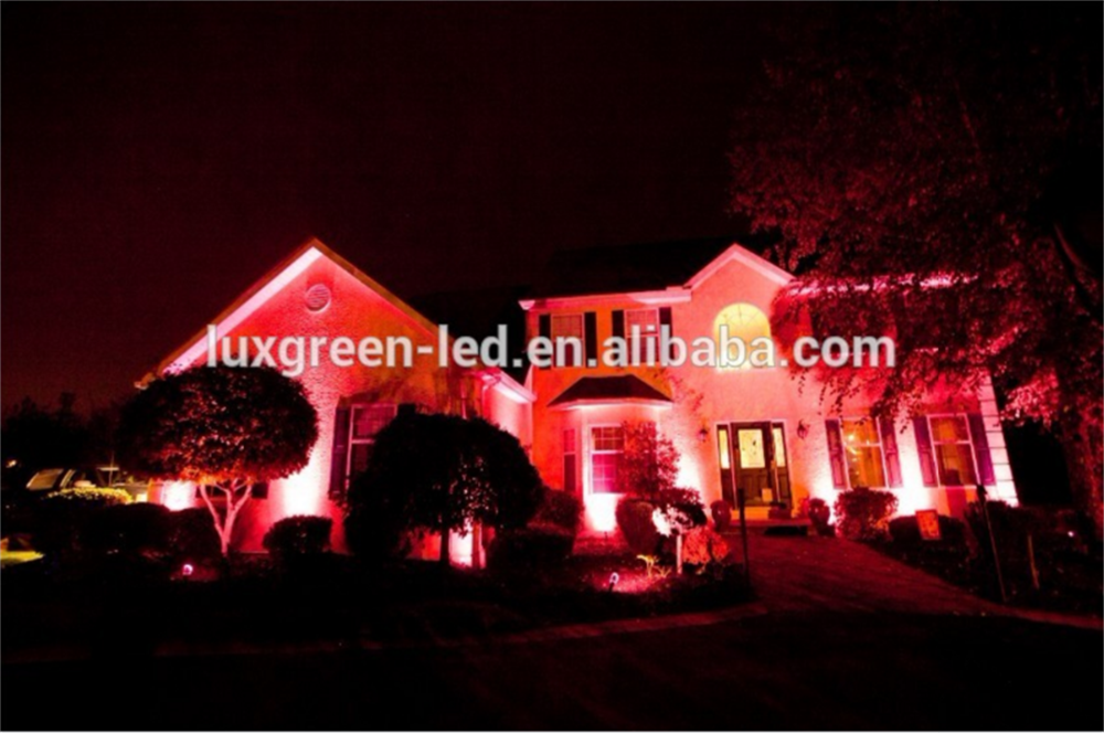 Competitive Price Aluminum Housing Ip65 5X3W 15W Rgb 3In1 Outdoor Led Garden Lamp