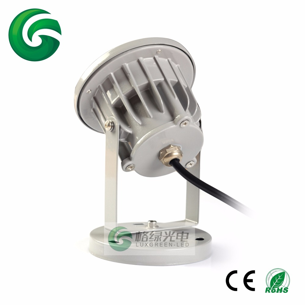 Guarranteed 100% Free DHL shipping Competitive Price Aluminum Housing Ip65 5X3W 15W Rgb 3In1 Outdoor Led Garden Lamp