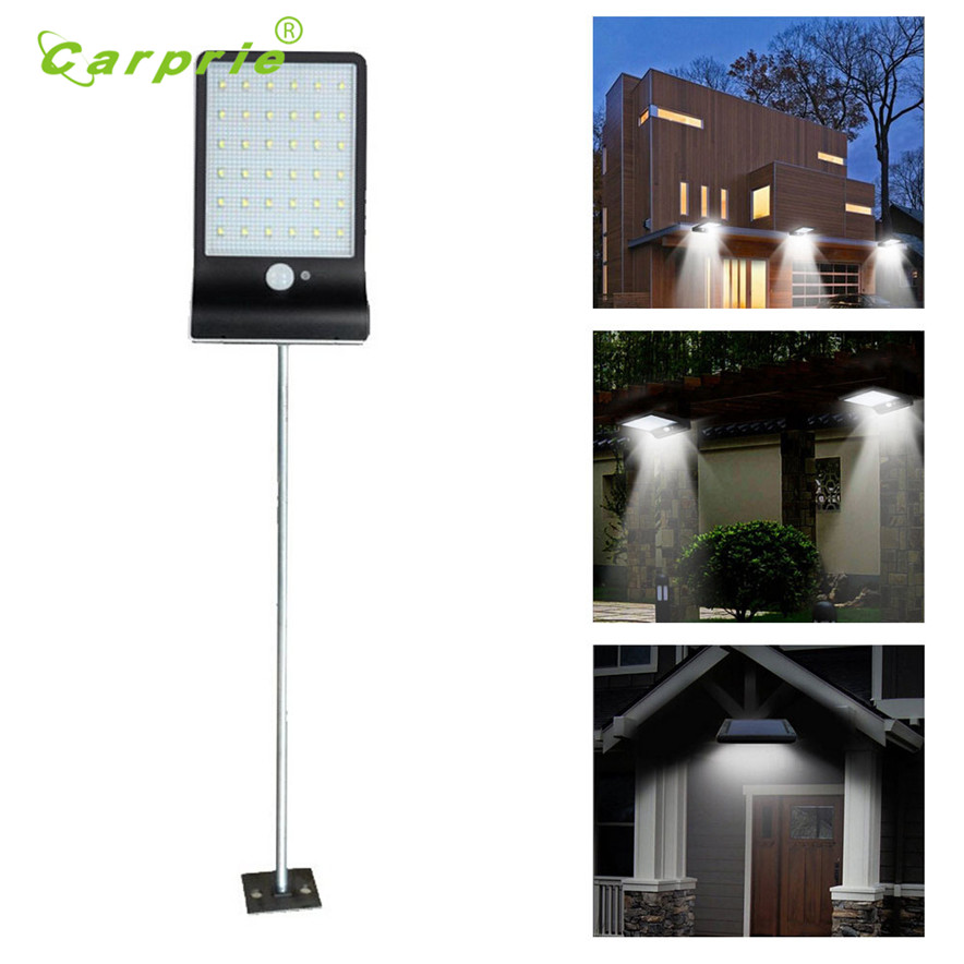 36 LED LED Solar Power PIR Motion Sensor Wall Light Outdoor Waterproof Energy Saving Street Yard Path Home Garden Security Lamp
