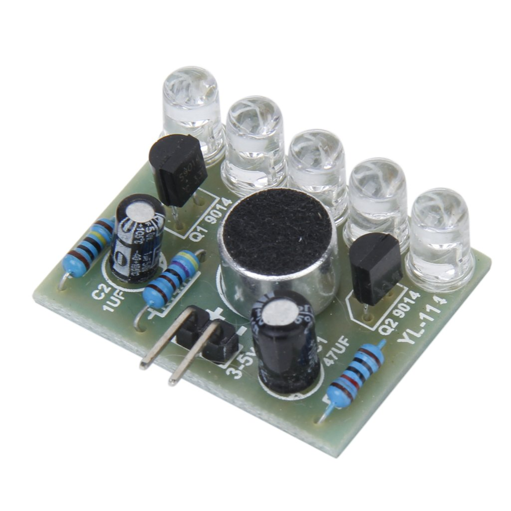 3-5.5V Sound Activated LED Melody Light Lamp Module Electronic DIY