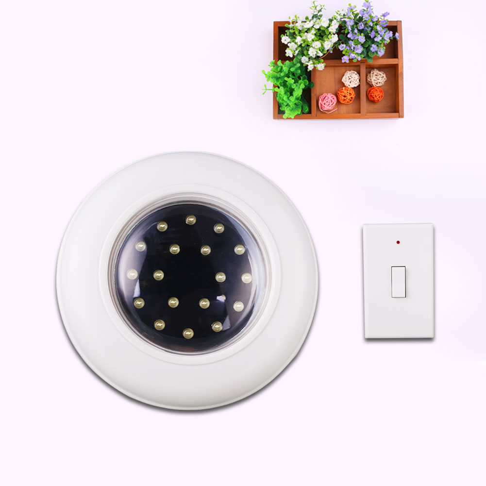Remote Control Ceiling Wireless Round LED White Lights Kitchen Home Lamp
