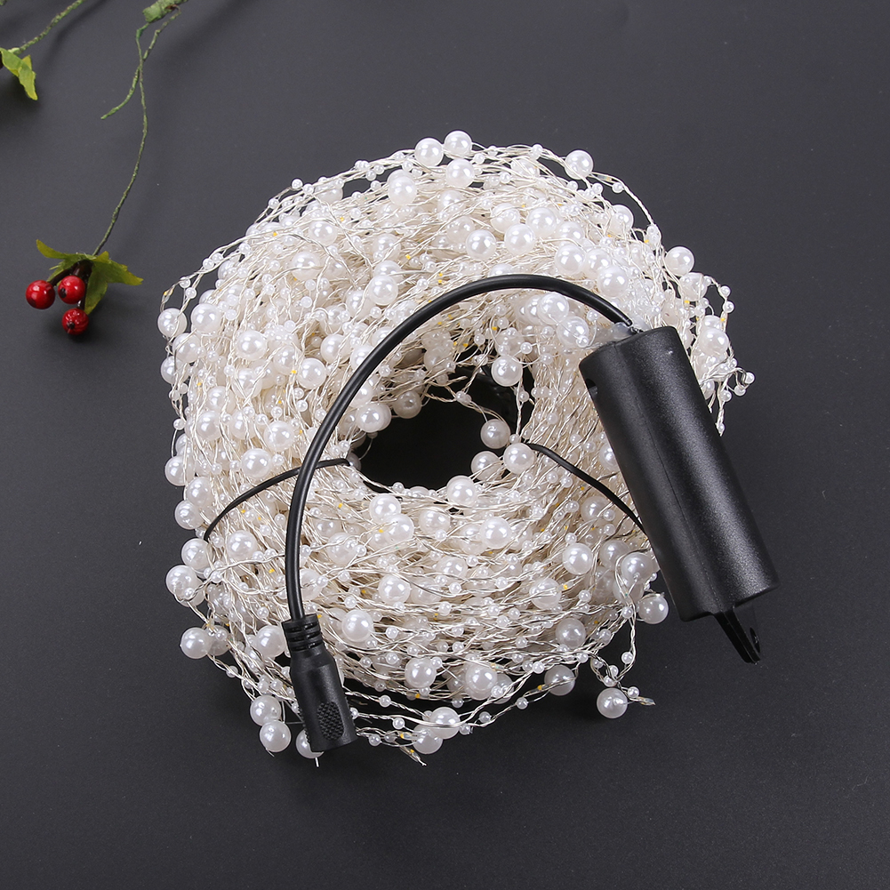 20pcs DC 12V 400 LEDs Mini 2M LED Silver Wire String Fairy Lights for Outdoor Christmas Holiday Wedding Party New Year