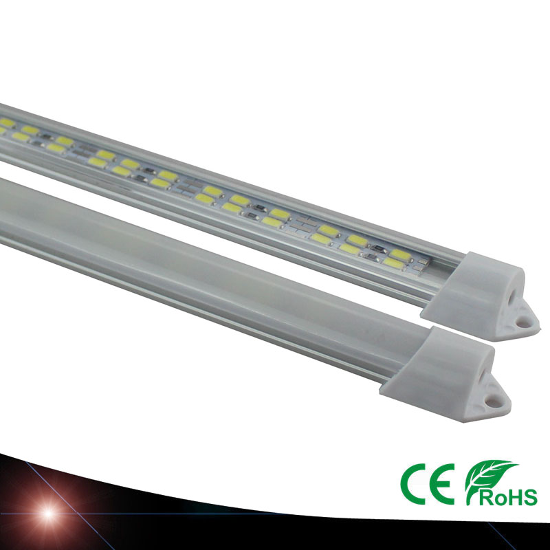 6pcs 30cm 5630SMD DC12V hard rigid bar strip with U aluminum profile shell channel housing cabinet light kitchen light