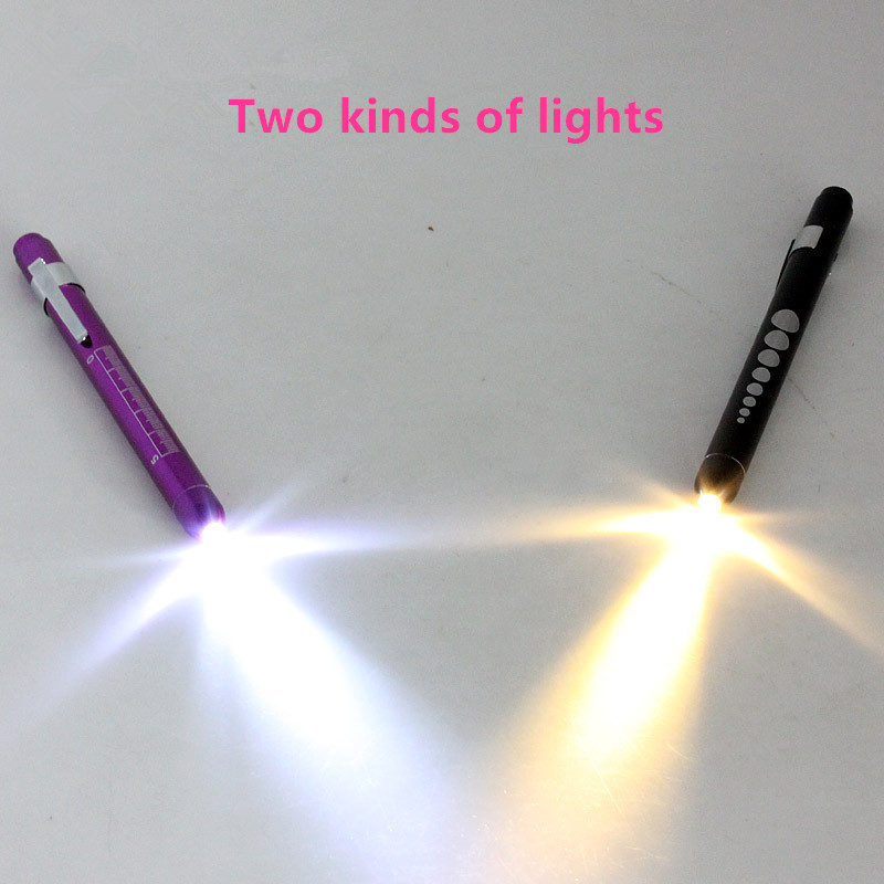 ESONS Check Special ENT Examination Lamp New LED Medical Clinical Pen Light Ophthalmic Two kinds light Powerful Led Flashlight