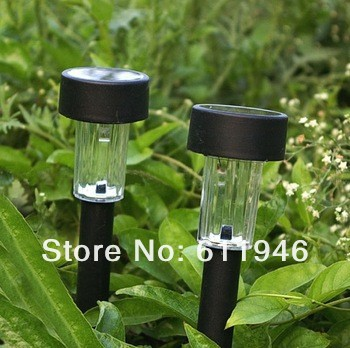 50pcs/lot LED Plastic Solar Light Solar Garden Light Outdoor Solar Landscape Light Lamp Lawn SL-01G