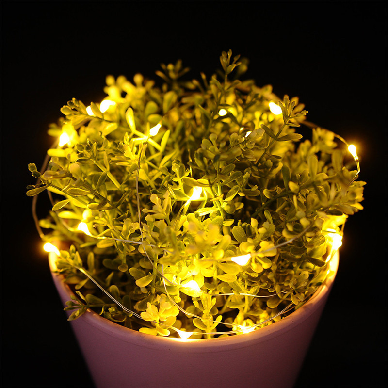 2M 20LED Micro Rice Wire Copper Fairy String Lights AA Battery Party Drop shipping 8.1
