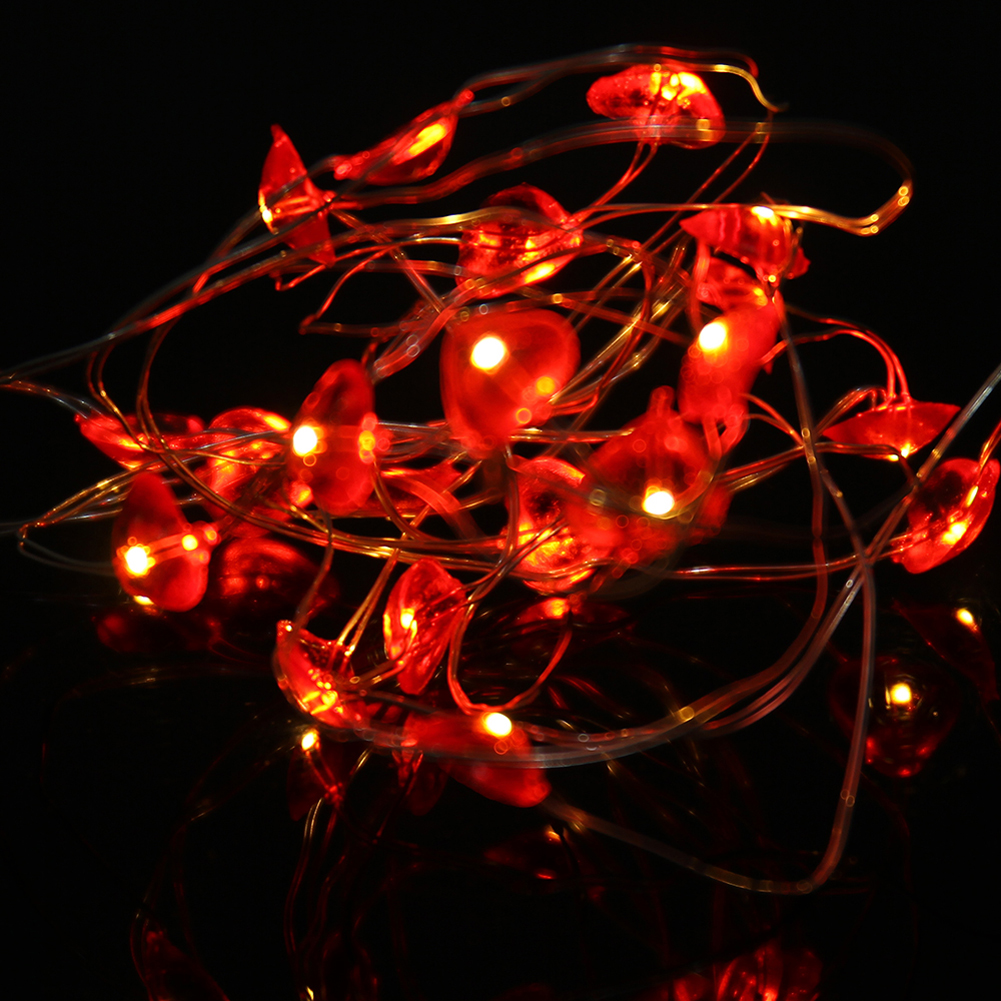 50Pcs Leds Lights Indoor 5M String LED Copper Wire Fairy Lights for Festival Wedding Party Home Christmas Decoration Lamp