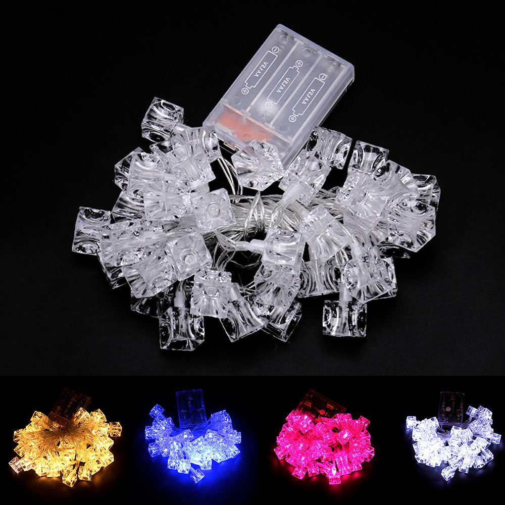 4m 40led battery string light  Christmas Light String Outdoor Fairy Lights Waterproof For Party Wedding Decoration