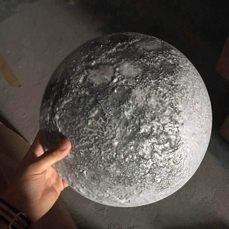 The Moon LED Wall Moon Lamp With Remote Control Relaxing Healing Moon Night Light for Kids