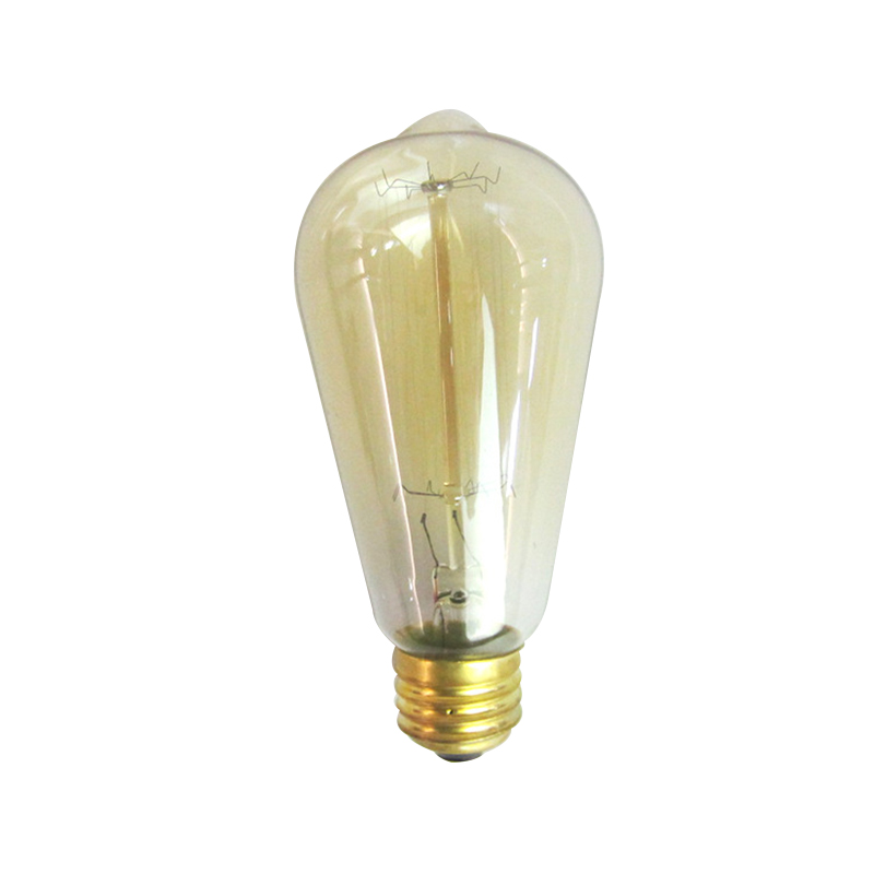 Retro lamp vintage edison bulb incandescent bulb 110v 220v holiday lights 40w 60w filament lamp for home decor