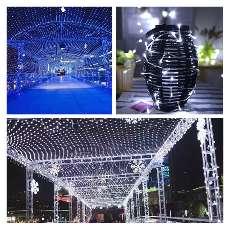 ZPAA Led Christmas Xmas String Lights 20M 30M Holiday Fairy light 200/300 LEDs Christmas Garland for Home party wedding garden