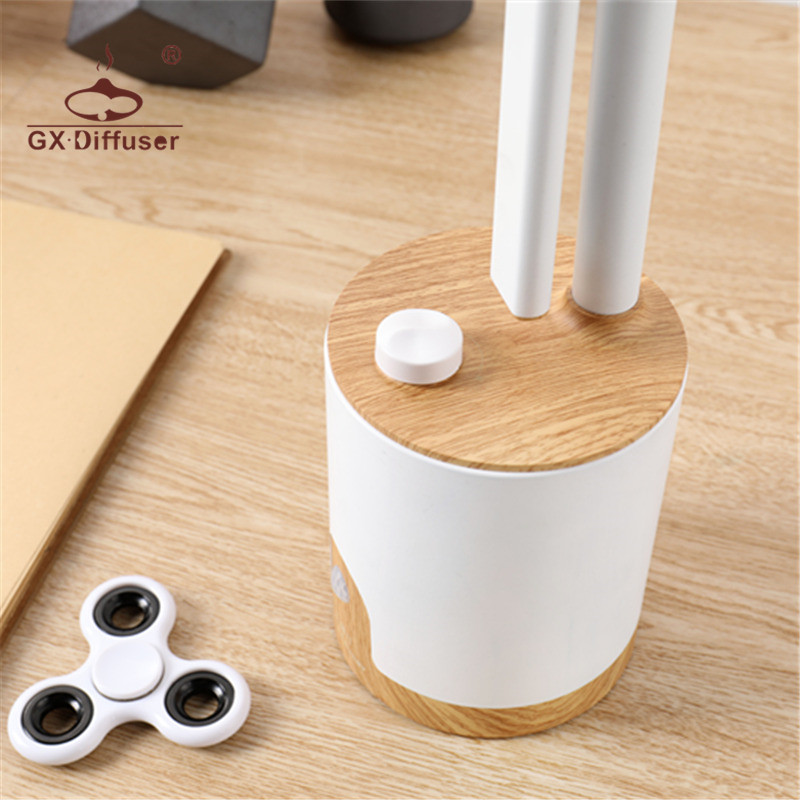 GX.Diffuser LED Desk Lamp Infrared Sensor Identification Rotate The Button To Adjust The Brightness And Color Temperature