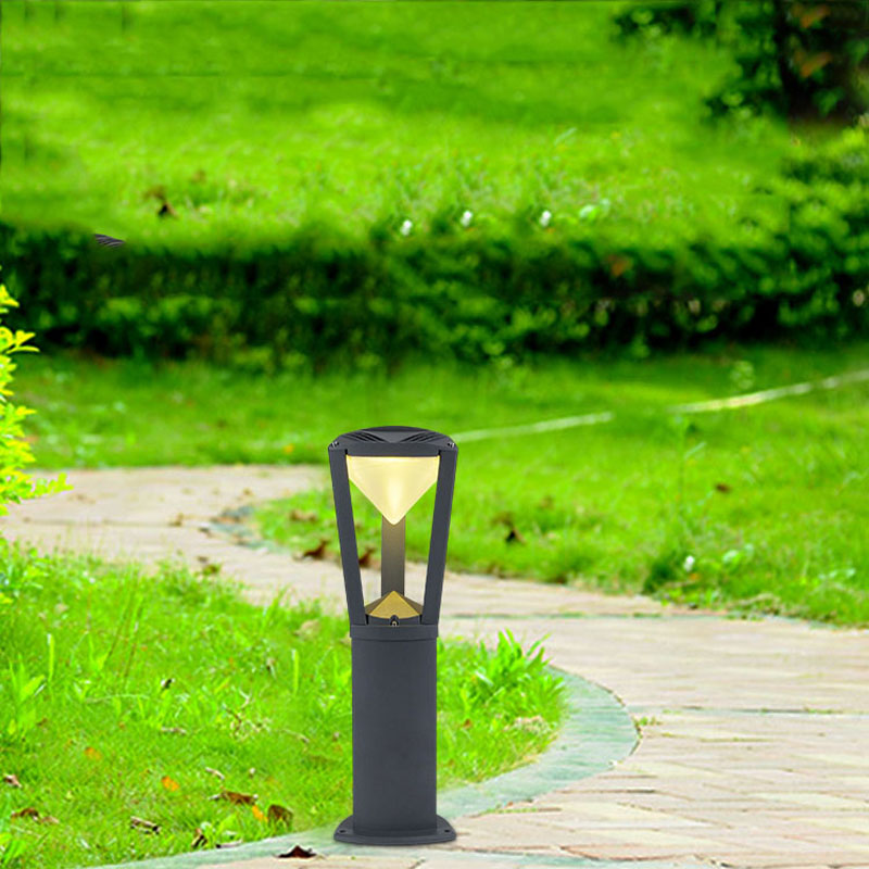 Outdoor pure aluminum lawn lamp, residential landscape lights, outdoor waterproof garden lights