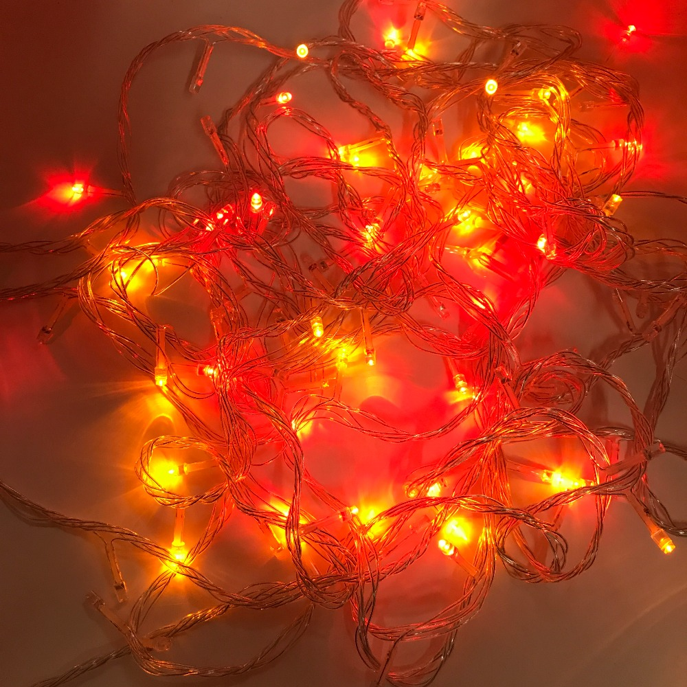 10m - 50m led string fairy lights - christmas wedding decorations holiday terrace ac220v waterproof outdoor lights garland