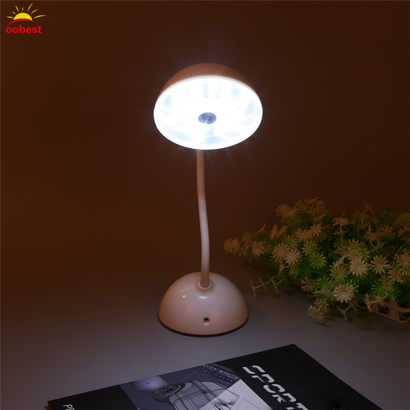 USB Rechargeable Adjustable Touch LED Laptop Desk Bed Table Lamp Reading Light Table Night Light moon lamp White
