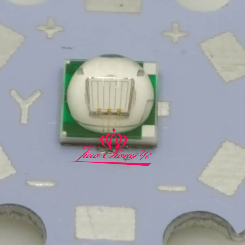 10PCS T6 10W 5050 UV Ultra Violet 395-400nm SMD LED Emitter Diode 3.2V 3A